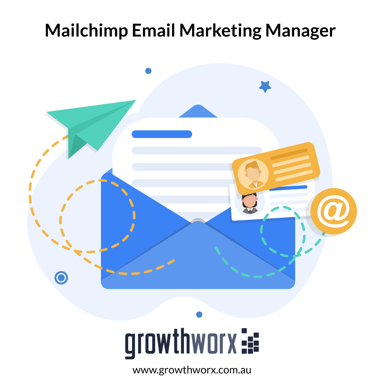I will be your email marketing manager on mailchimp 1