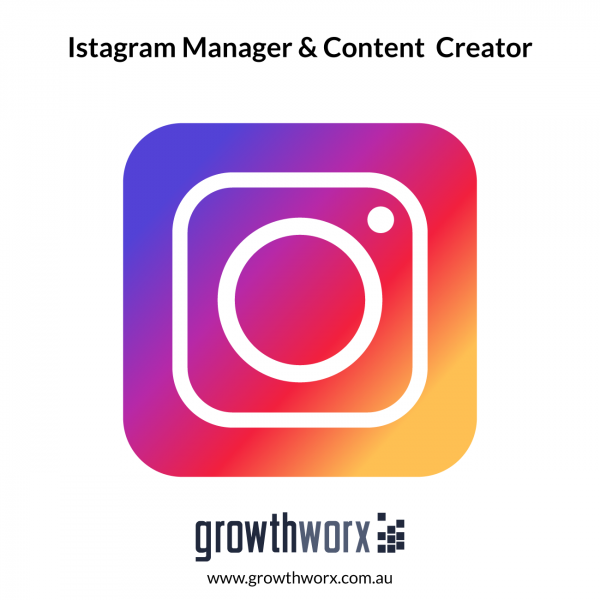 I will be your instagram manager and content creator to build your brand 1