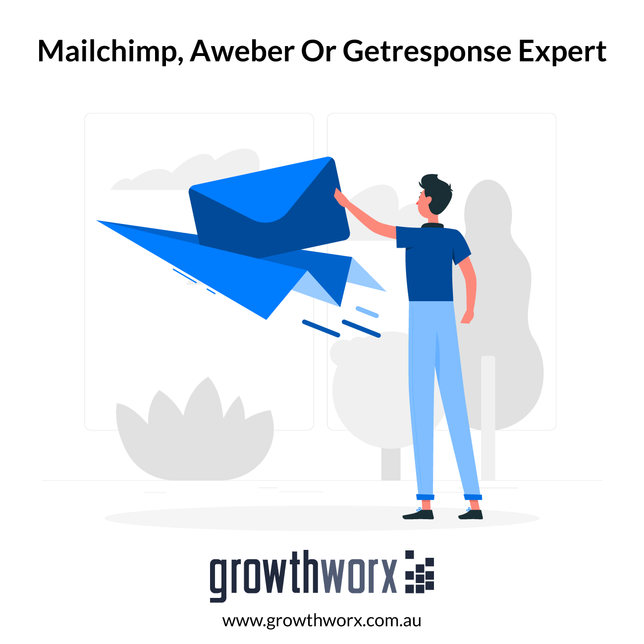 I will be your mailchimp, aweber or getresponse expert 1