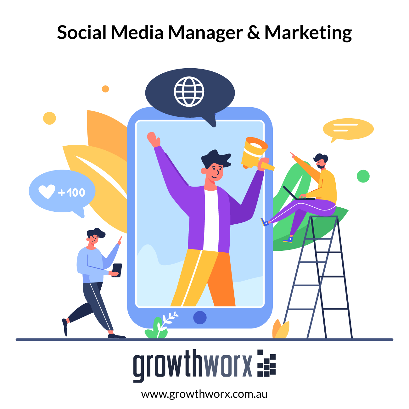 I will be your social media manager,social media marketing 1