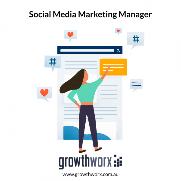 I will be your social media marketing manager 1