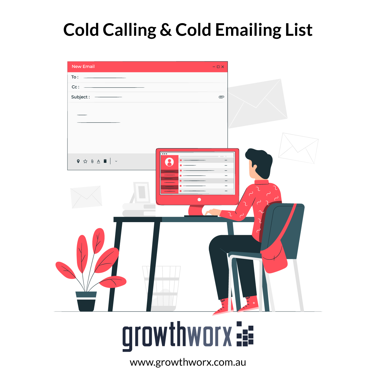 I will build cold calling and cold emailing list 1