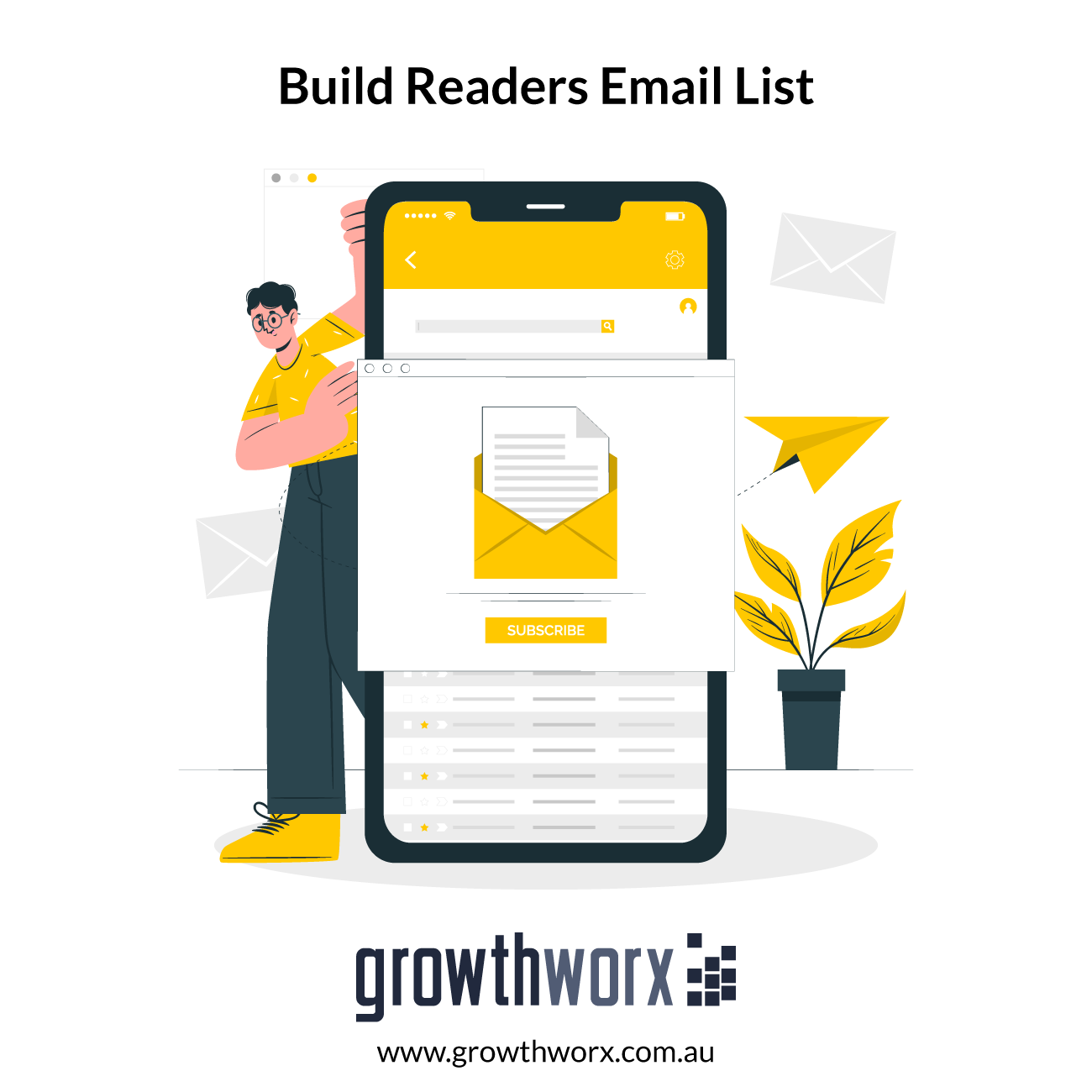 I will build readers email list for your book or ebook 1