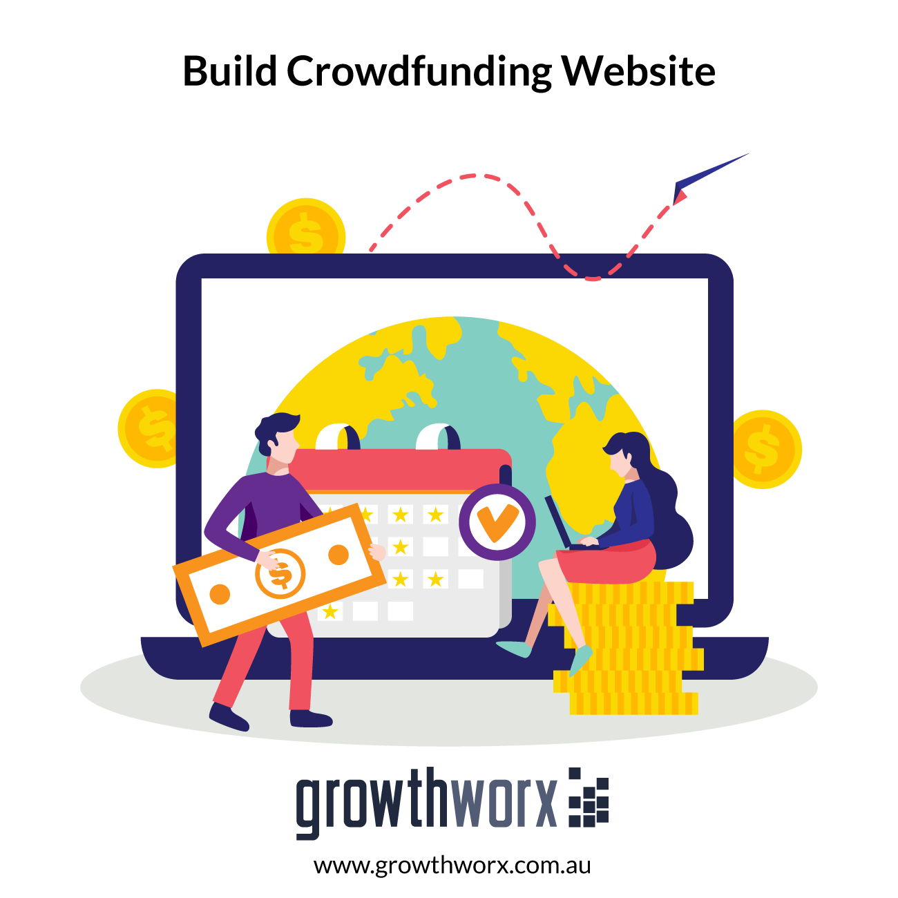 I will build your crowdfunding website 1