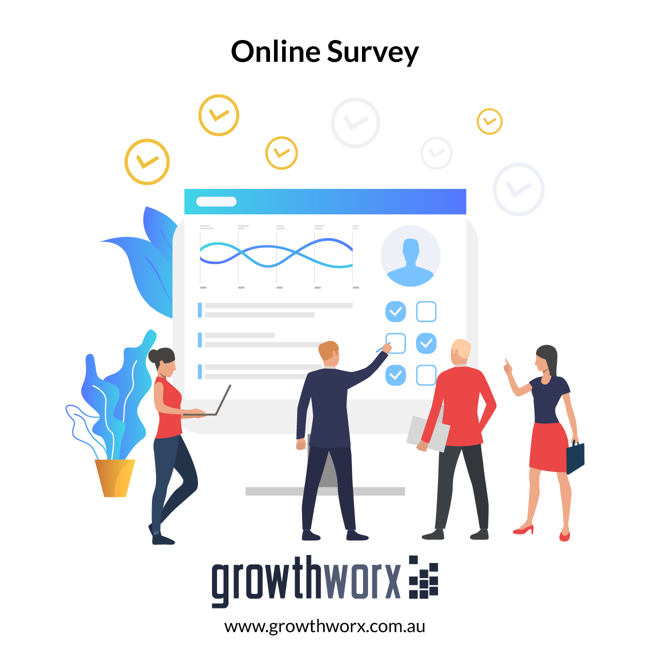 I will conduct your online survey with up to 500 US consumers 1