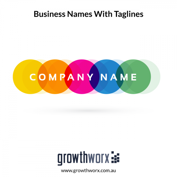 I will create 10 unique business names with taglines 1