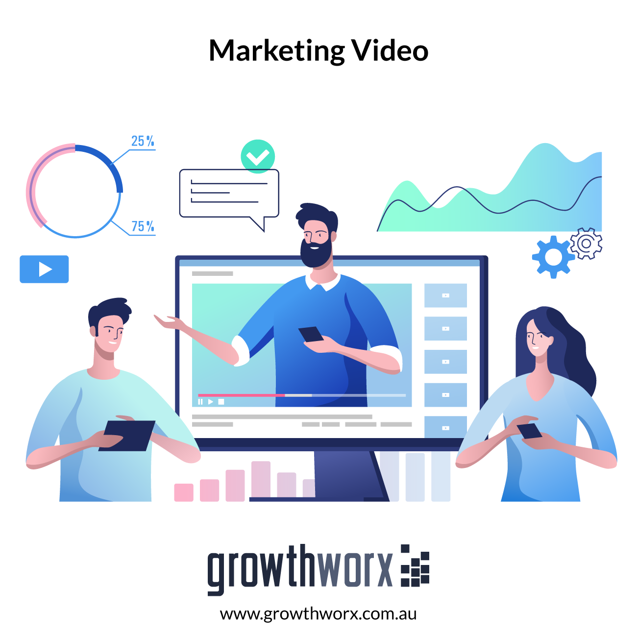I will create a short and powerful internet marketing video 1