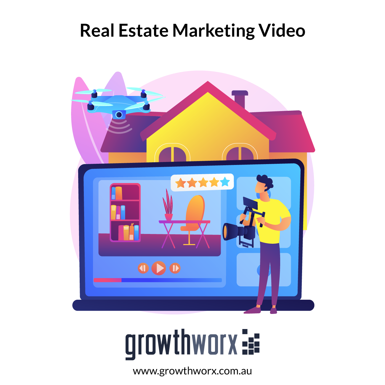I will create amazing real estate marketing video 1