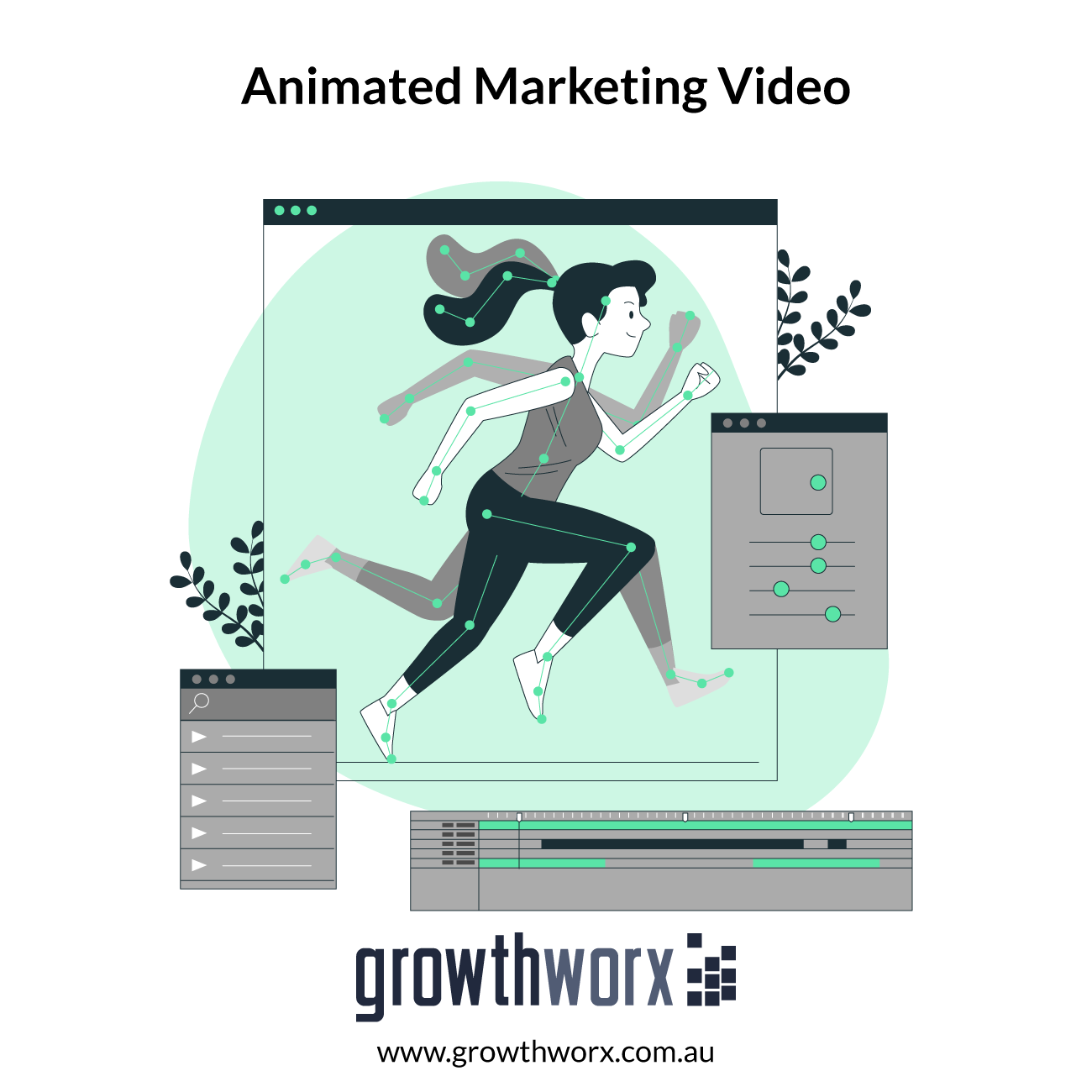 I will create animated marketing video for sales 1