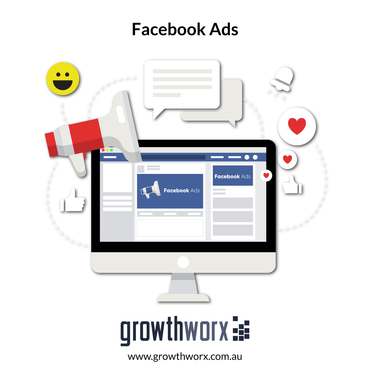 I will create facebook ads to grow your page likes 1