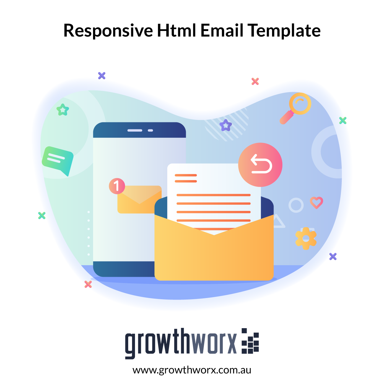 I will design a best quality responsive html email template for you 1