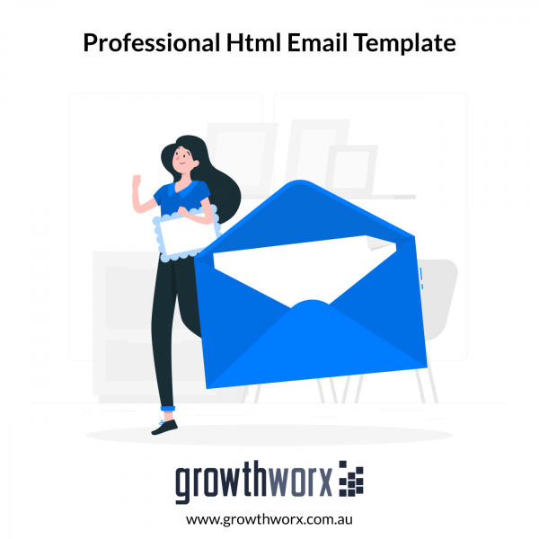 I will design a professional HTML email template or newsletter 1