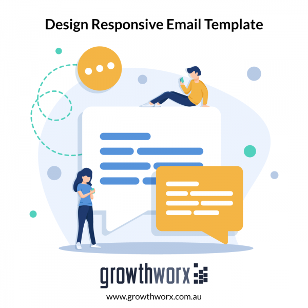 I will design responsive constant contact, aweber, email template 1