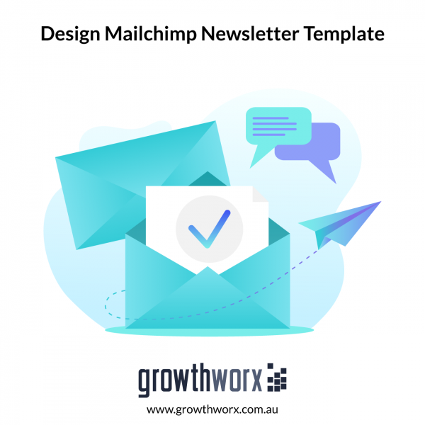 I will design your mailchimp newsletter template USA seller 1