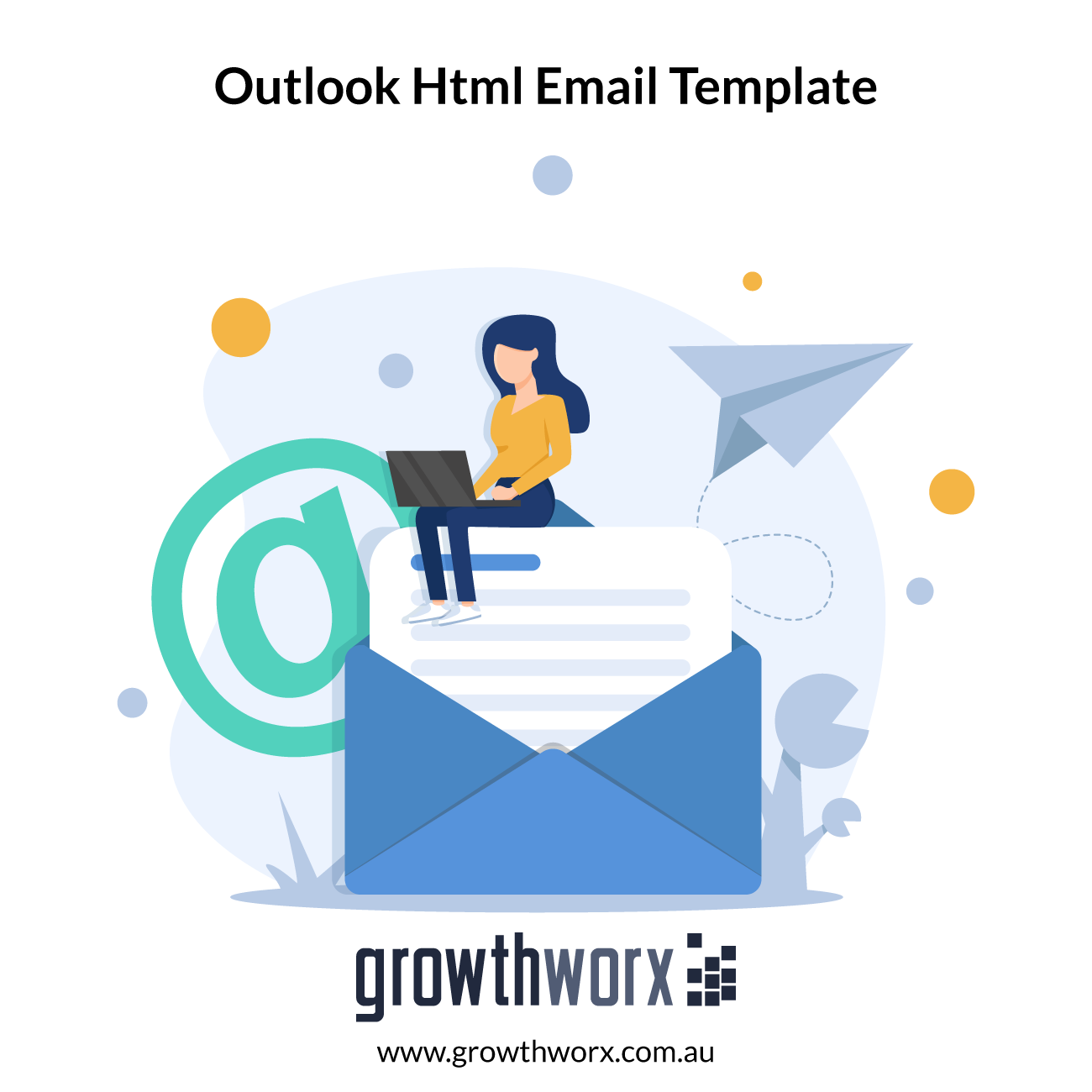 I will develop professional outlook HTML email template newsletter 1