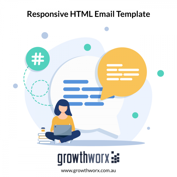 I will develop responsive HTML email template 1
