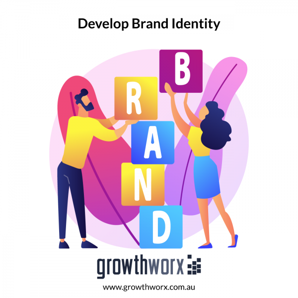 I will develop your brand identity and voice 1