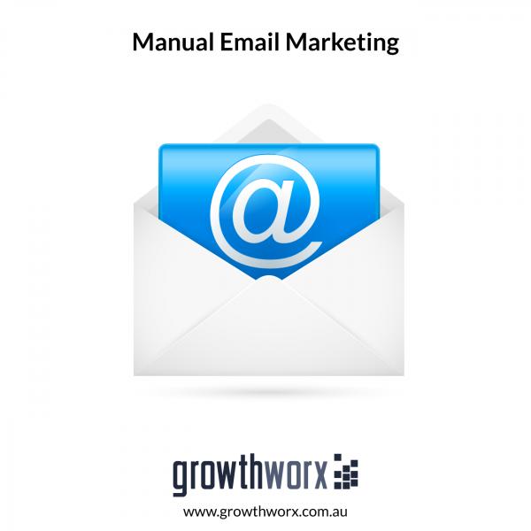 I will do email marketing through sending emails manually 1