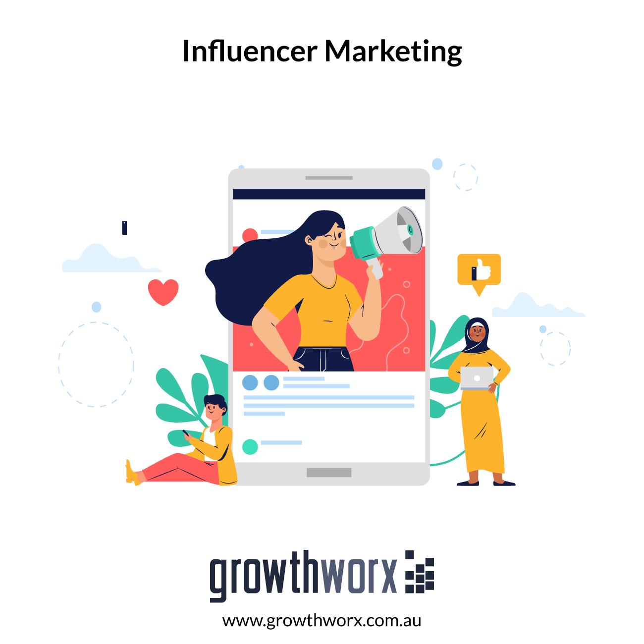 I will do influencer marketing for you 1