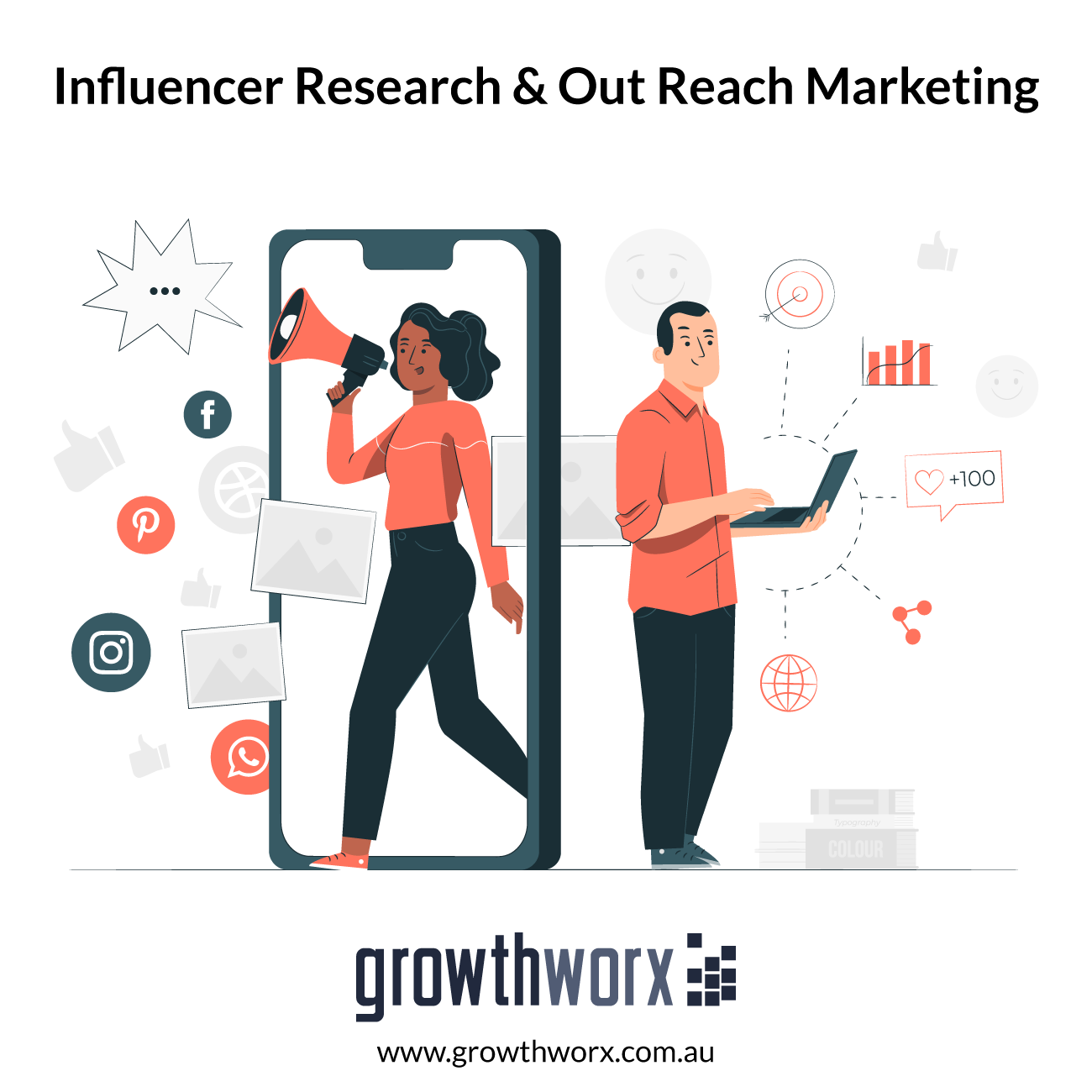 I will do influencer research and out reach marketing 1