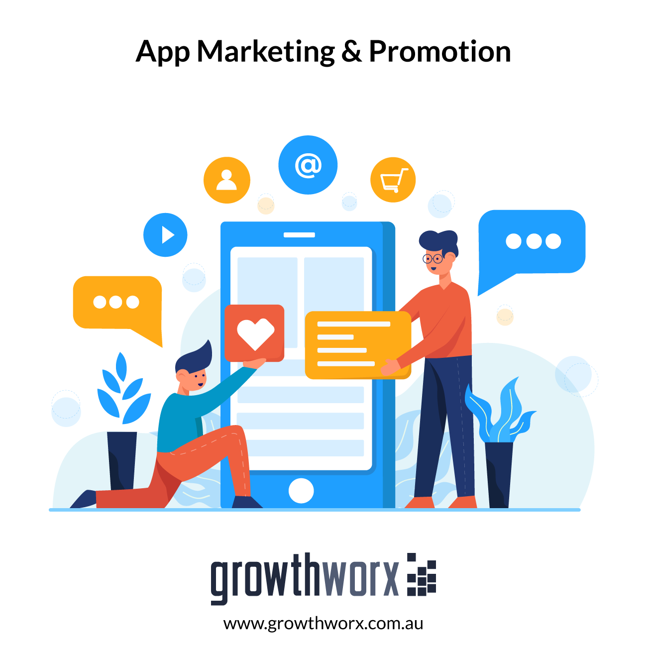 I will do mobile app marketing and app promotion as app of the day 1