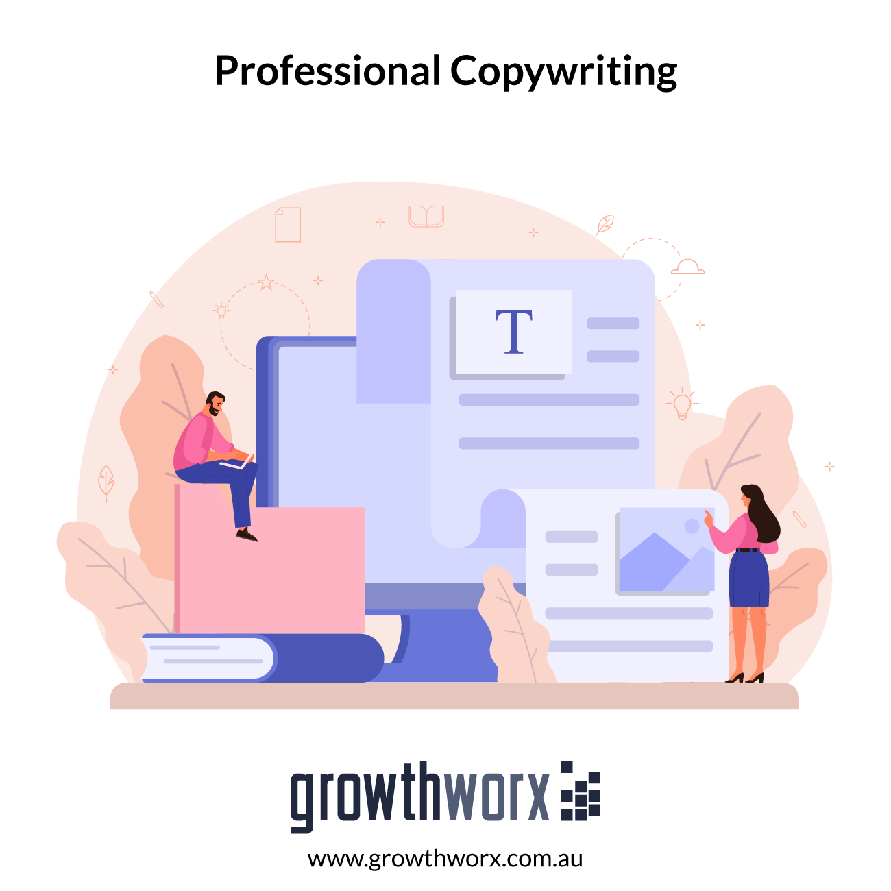 I will do professional copywriting for your website or print ad 1