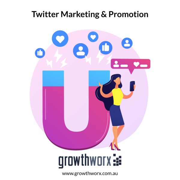 I will do twitter marketing and promotion with organic growth 1