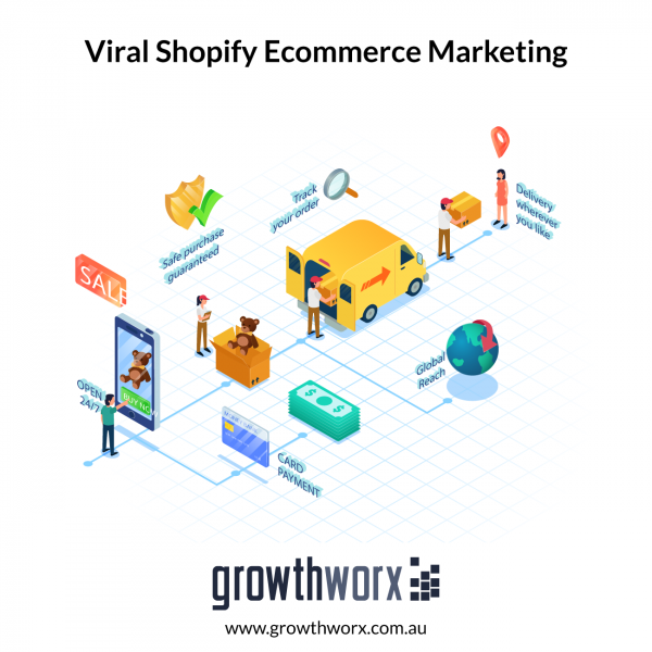 I will do viral shopify marketing, ecommerce marketing for more shopify sales 1