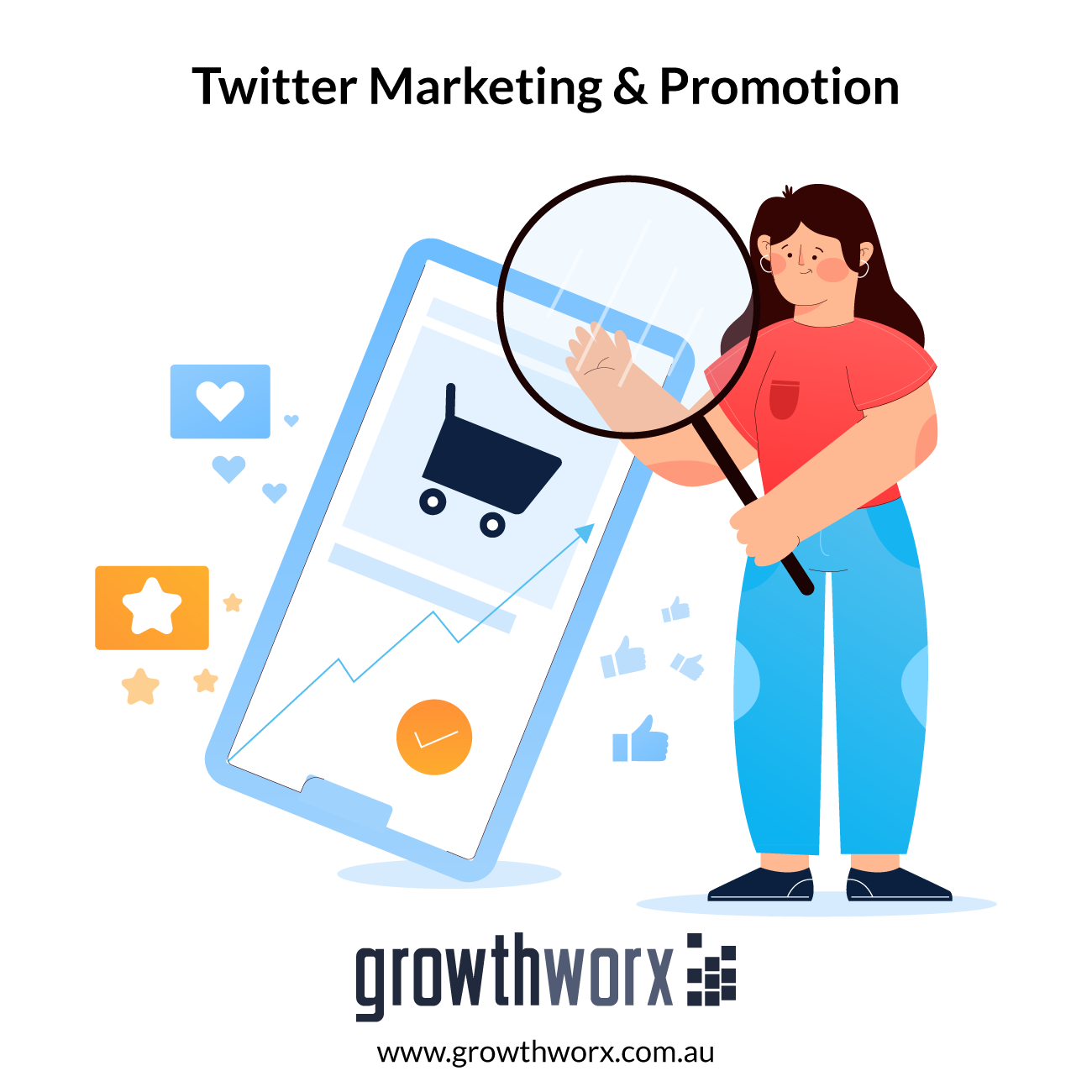I will do viral twitter marketing and organic growth promotion 1
