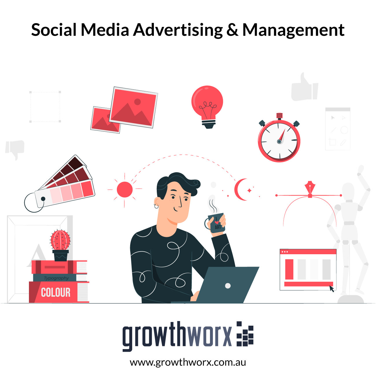 I will do your social media advertising and management 1