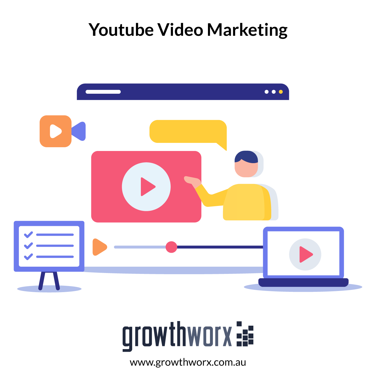 I will do youtube video marketing 1