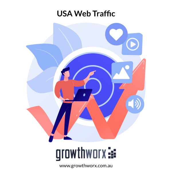 I will drive niche targeted USA web traffic, real organic visitors 1