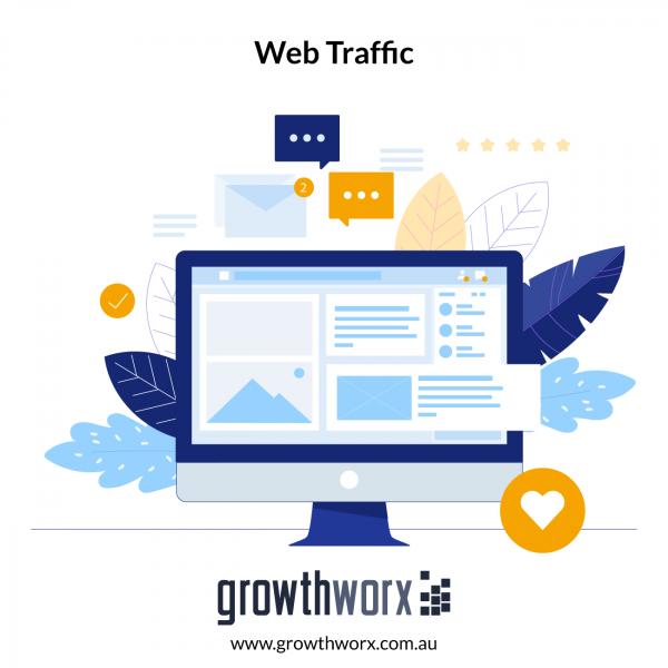 I will drive organic web traffic 1