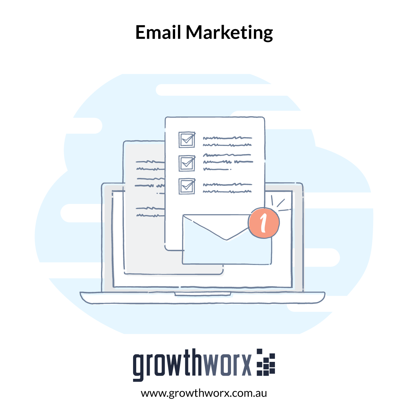 I will grow your business with email marketing 1