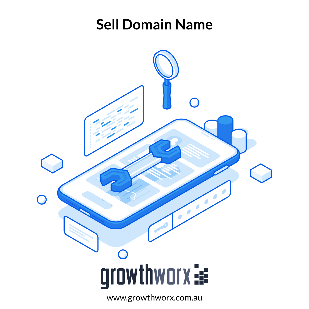 I will help you to sell domain name with listing and sales page 1