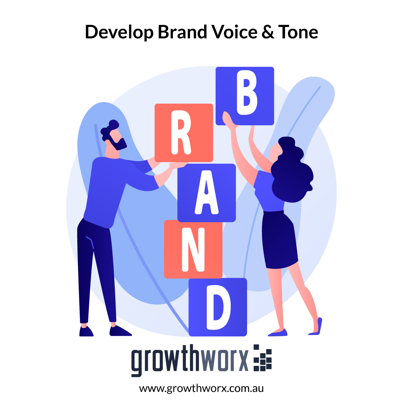 I will identify and pin down your brand voice and tone 1