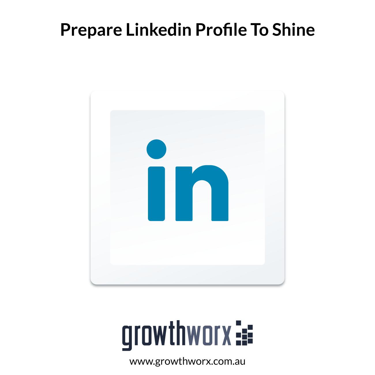I will prepare your linkedin profile to shine 1