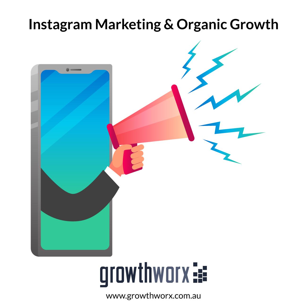 I will professionally do instagram marketing and organic growth 1