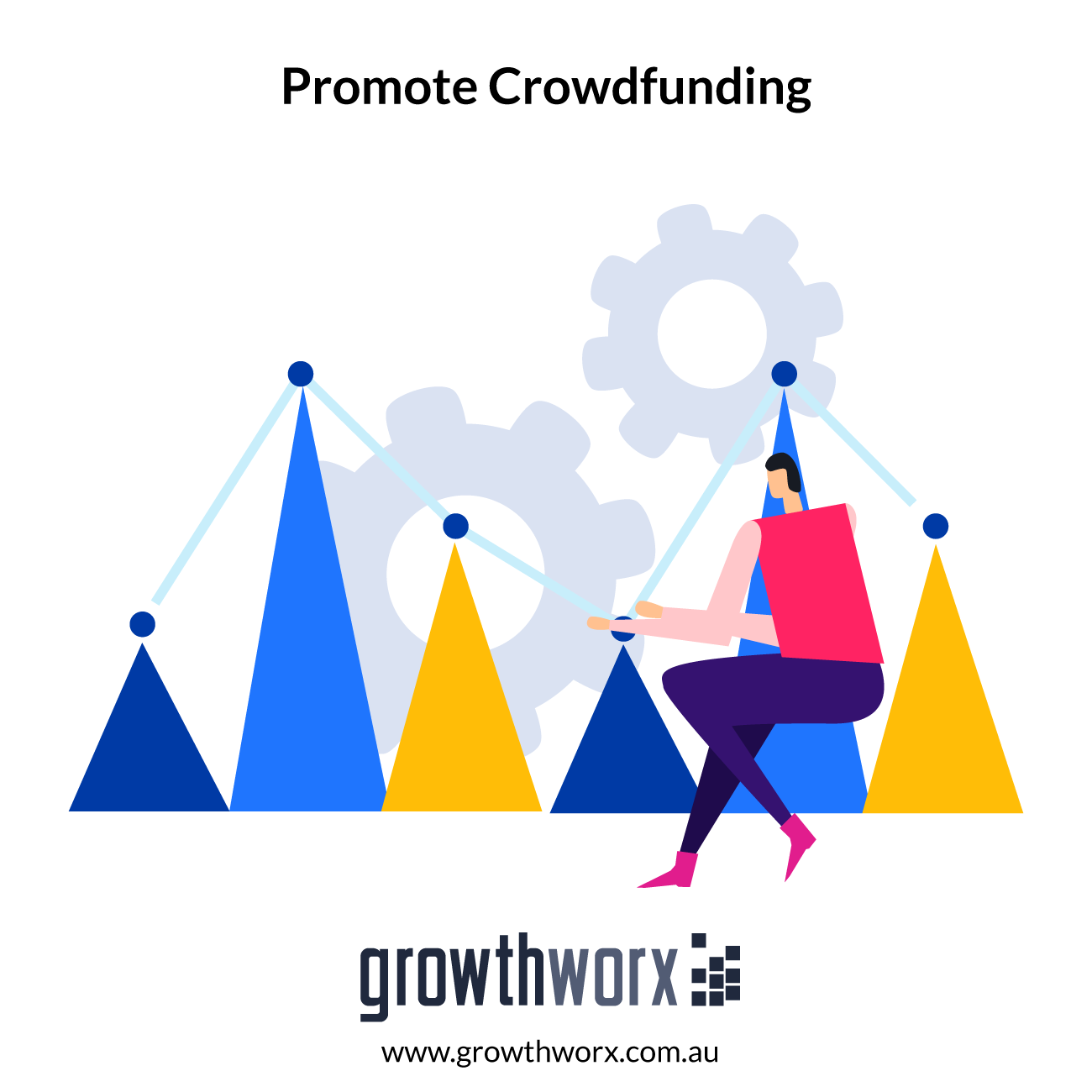 I will promote your crowdfunding or any fundraising,to the backer 1