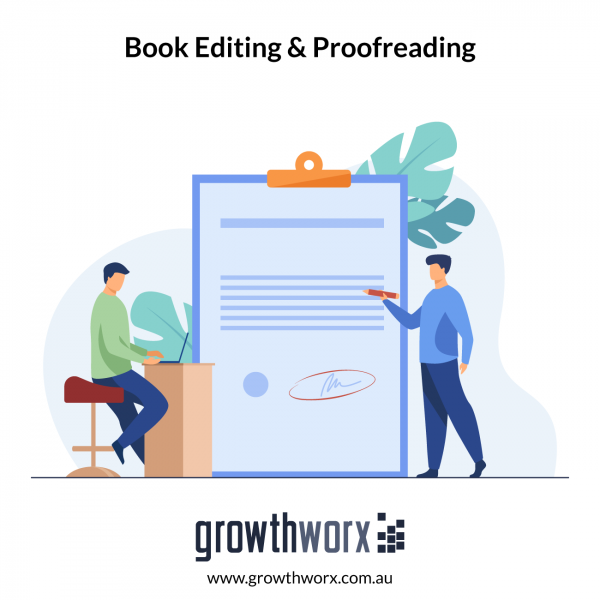 I will provide book editing and proofreading 1