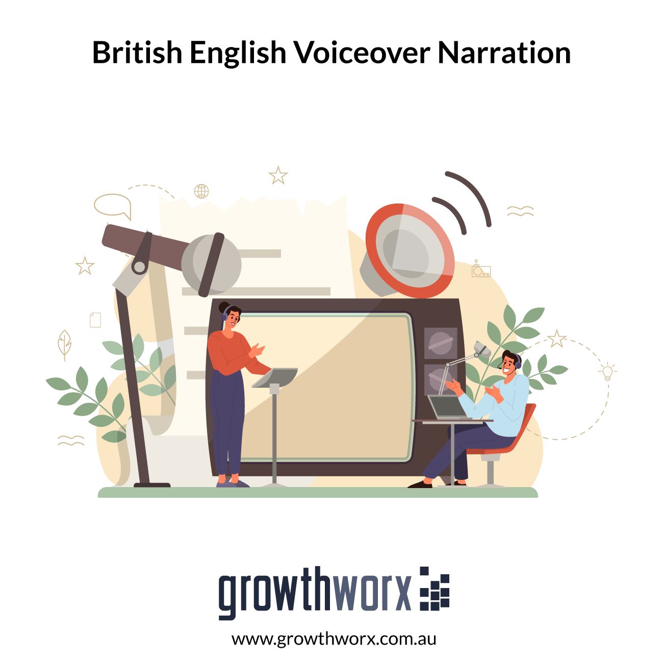 I will record a british english voiceover narration in 24 hours 1