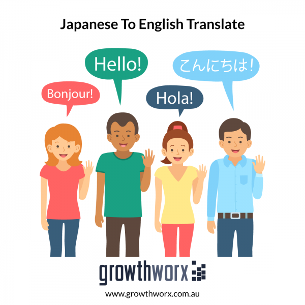 I will translate japanese to english and vice versa up to 100 words 1