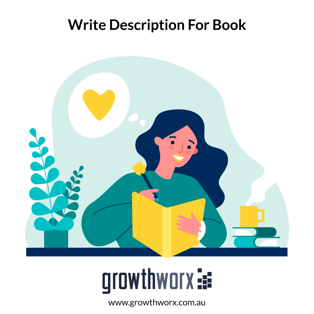 I will write a great description for your book which will sell it 1