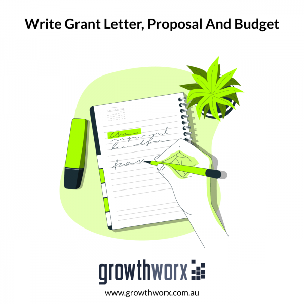 I will write a perfect grant letter, a proposal and budget 1