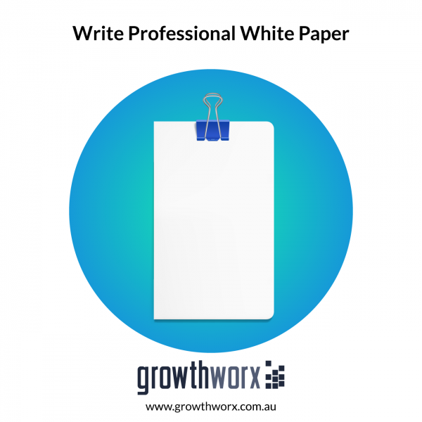 I will write a professional white paper 1