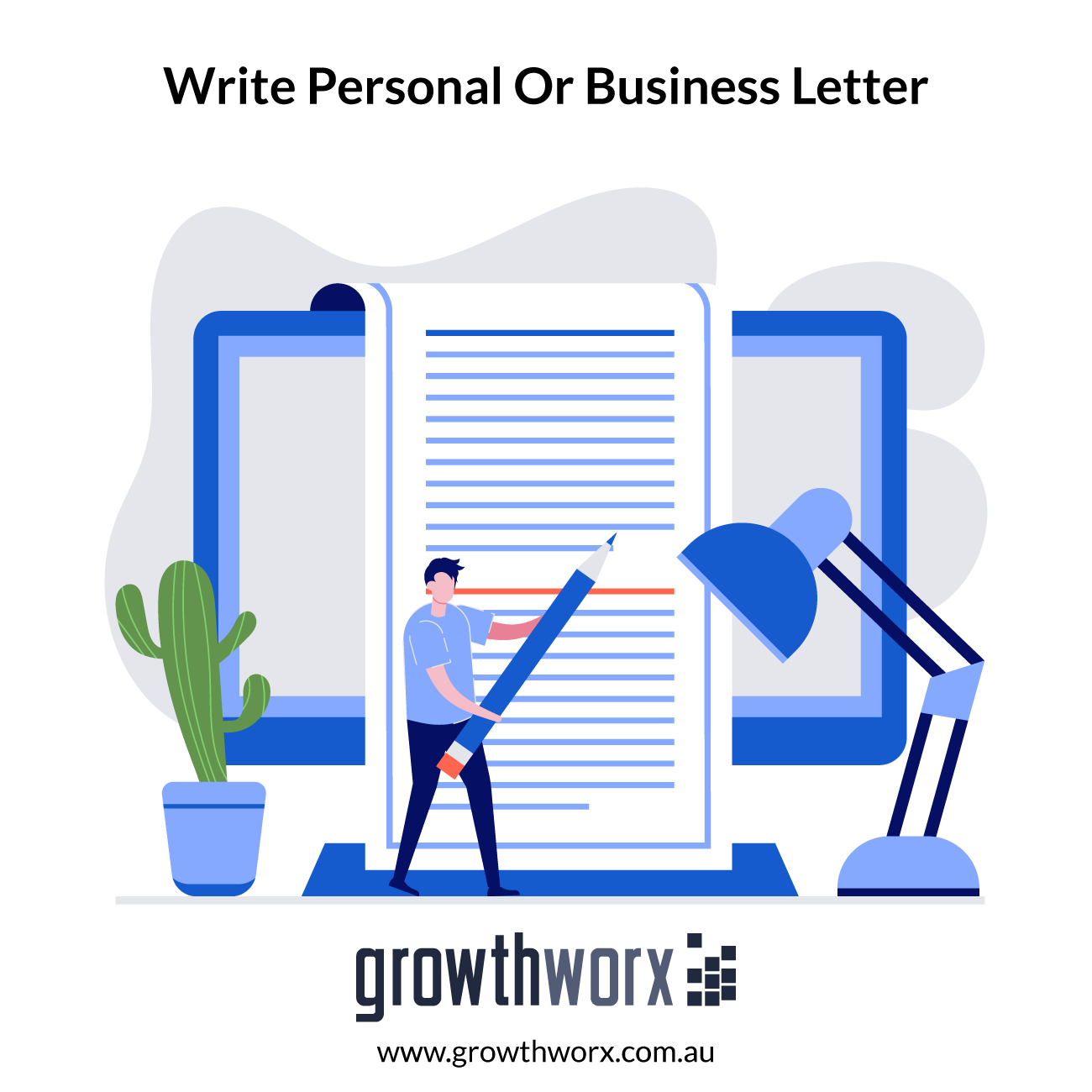 I will write a unique personal or business letter 1