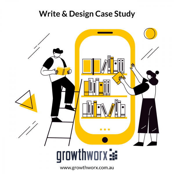 I will write and design a case study for your business 1