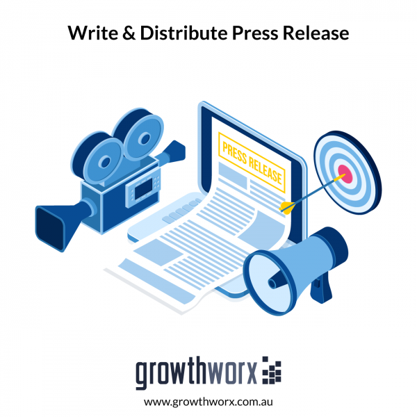 I will write and distribute your press release 1