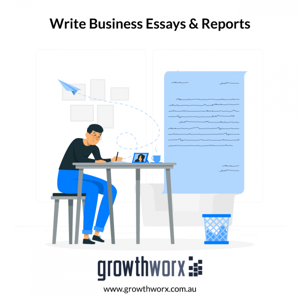 I will write business essays, reports and do research 1