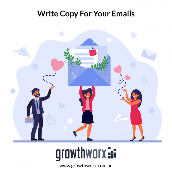 I will write copy for your emails and sales letters 1